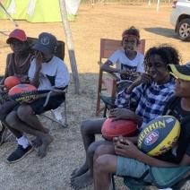 Kids at camp 2