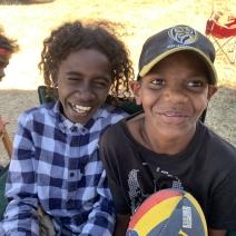 Kids at camp 4